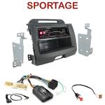 Autoradio Alpine Kia Sportage de 08/2010 à 2014 - UTE-72BT, UTE-92BT, CDE-173BT, CDE-190R, CDE-193BT ou CDE-195BT au choix