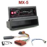 Autoradio Alpine Mazda MX-5 de 2000 à  2005 - UTE-72BT, UTE-92BT, CDE-173BT, CDE-190R, CDE-193BT ou CDE-195BT au choix