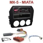 Autoradio Alpine Mazda MX-5 & Miata depuis 2005 - UTE-72BT, UTE-92BT, CDE-173BT, CDE-190R, CDE-193BT ou CDE-195BT au choix