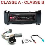Autoradio Alpine Mercedes Classe A & Classe B de 2005 à 2013 - UTE-72BT, UTE-92BT, CDE-173BT, CDE-190R, CDE-193BT ou CDE-195BT au choix
