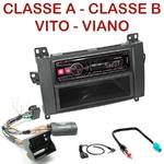 Autoradio Alpine Mercedes Classe A Classe B Vito et Viano - UTE-72BT, UTE-92BT, CDE-173BT, CDE-190R, CDE-193BT ou CDE-195BT au choix