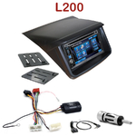 Autoradio 2-DIN Alpine Mitsubishi L200 depuis 2006 - CDE-W296BT, IVE-W560BT, IVE-W585BT OU ICS-X8 AU CHOIX
