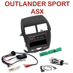 Autoradio Alpine Mitsubishi ASX et Outlander Sport depuis 2011 - UTE-72BT, UTE-92BT, CDE-173BT, CDE-190R, CDE-193BT ou CDE-195BT au choix