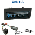 Poste 1-DIN CD/USB/Bluetooth Citroën Xantia de 1999 à 2003 - autoradio JVC et Kenwood au choix