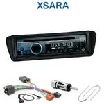 Poste 1-DIN CD/USB/Bluetooth Citroën Xsara de 2000 à 2006 & Xsara Picasso de 2000 à 2010 - autoradio JVC et Kenwood au choix