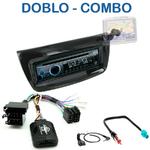 Autoradio Clarion Fiat Doblo depuis 2010 & Opel Combo depuis 2012 - CZ215E, FZ502E ou CZ315E au choix