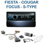 Autoradio Clarion Ford Cougar, Fiesta, Galaxy, Puma, Focus, Mondeo & Jaguar Type S - CZ215E, FZ502E ou CZ315E au choix