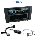 Poste 1-DIN CD/USB/Bluetooth Honda CR-V de 2006 à 10/2012 - autoradio JVC et Kenwood au choix