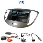 Poste 1-DIN CD/USB/Bluetooth Hyundai i10 de 2008 à 2013 - autoradio JVC et Kenwood au choix
