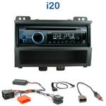 Poste 1-DIN CD/USB/Bluetooth Hyundai i20 depuis 2008 - autoradio JVC et Kenwood au choix
