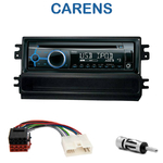 Poste 1-DIN CD/USB/Bluetooth Kia Carens de 2002 à 2006 - autoradio JVC et Kenwood au choix