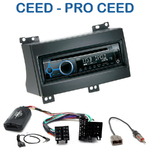 Autoradio Clarion Kia Cee'd & Pro Cee'd de 12/2006 à 08/2009 - CZ215E, FZ502E ou CZ315E au choix