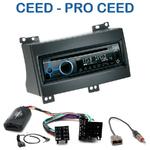 Poste 1-DIN CD/USB/Bluetooth Kia Cee'd & Pro Cee'd de 12/2006 à 08/2009 - autoradio JVC et Kenwood au choix
