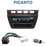 Autoradio Clarion Kia Picanto de 2004 à 2007 - CZ215E, FZ502E ou CZ315E au choix