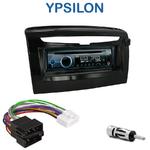 Poste 1-DIN CD/USB/Bluetooth Lancia Ypsilon depuis 2012 - autoradio JVC et Kenwood au choix