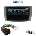 Poste 1-DIN CD/USB/Bluetooth Lancia Musa depuis 2005 - autoradio JVC et Kenwood au choix