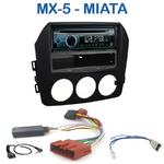 Autoradio Clarion Mazda MX-5 & Miata depuis 2005 - CZ215E, FZ502E ou CZ315E au choix
