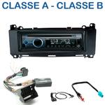 Poste 1-DIN CD/USB/Bluetooth Mercedes Classe A & Classe B de 2005 à 2013 - autoradio JVC et Kenwood au choix