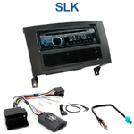 Poste 1-DIN CD/USB/Bluetooth Mercedes SLK (R171) de 04/2008 à 03/2011 - autoradio JVC et Kenwood au choix