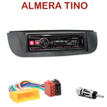 Autoradio Alpine Nissan Almera Tino de 2001 à 2004 - UTE-72BT, UTE-92BT, CDE-173BT, CDE-190R, CDE-193BT ou CDE-195BT au choix