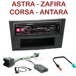 Autoradio Alpine Opel Astra, Corsa, Zafira et Antara - UTE-72BT, UTE-92BT, CDE-173BT, CDE-190R, CDE-193BT ou CDE-195BT au choix