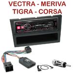 Autoradio 1-DIN Opel Agila Corsa Meriva Tigra Vectra Vivaro - UTE-72BT, UTE-92BT, CDE-173BT, CDE-190R, CDE-193BT ou CDE-195BT au choix