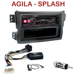 Autoradio Alpine Opel Agila & Suzuki Splash depuis 2008 - UTE-72BT, UTE-92BT, CDE-173BT, CDE-190R, CDE-193BT ou CDE-195BT au choix