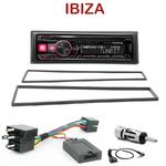 Autoradio Alpine Seat Ibiza de 2002 à 2008 - UTE-72BT, UTE-92BT, CDE-173BT, CDE-190R, CDE-193BT ou CDE-195BT au choix
