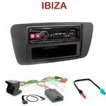 Autoradio Alpine Seat Ibiza depuis 06/2008 - UTE-72BT, UTE-92BT, CDE-173BT, CDE-190R, CDE-193BT ou CDE-195BT au choix