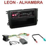 Autoradio Alpine Seat Leon et Alhambra - UTE-72BT, UTE-92BT, CDE-173BT, CDE-190R, CDE-193BT ou CDE-195BT au choix