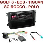 Autoradio Alpine Volkswagen Eos Golf Passat Polo Tiguan Touran - UTE-72BT, UTE-92BT, CDE-173BT, CDE-190R, CDE-193BT ou CDE-195BT au choix