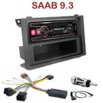 Autoradio Alpine Saab 9-3 depuis 2006 - UTE-72BT, UTE-92BT, CDE-173BT, CDE-190R, CDE-193BT ou CDE-195BT au choix