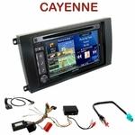 Pack autoradio GPS Porsche Cayenne de 2002 à 2010 - INE-W990BT, INE-W920R, INE-W997D ou ILX-700 au choix