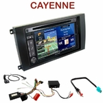 Pack autoradio GPS Porsche Cayenne de 2002 à 2010 - INE-W990HDMI, INE-W710D, INE-W987D ou ILX-702D au choix