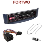 Autoradio Alpine Smart ForTwo de 10/1998 à 02/2007 - UTE-72BT, UTE-92BT, CDE-173BT, CDE-190R, CDE-193BT ou CDE-195BT au choix