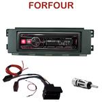 Autoradio Alpine Smart ForFour de 01/2004 à 06/2006 - UTE-72BT, UTE-92BT, CDE-173BT, CDE-190R, CDE-193BT ou CDE-195BT au choix