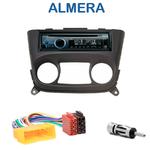 Poste 1-DIN CD/USB/Bluetooth Nissan Almera de 03/2000 à 11/2006 - autoradio JVC et Kenwood au choix