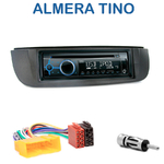 Poste 1-DIN CD/USB/Bluetooth Nissan Almera Tino de 2001 à 2004 - autoradio JVC et Kenwood au choix