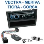 Autoradio Clarion Opel Agila, Combo, Corsa, Meriva, Omega, Signum, Tigra Twin Top, Vectra & Vivaro - CZ215E, FZ502E ou CZ315E au choix