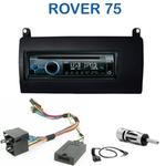 Poste 1-DIN CD/USB/Bluetooth Rover 75 de 05/1999 à 2005 - autoradio JVC et Kenwood au choix