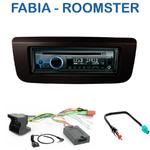 Poste 1-DIN CD/USB/Bluetooth Skoda Fabia depuis 2007 & Roomster depuis 09/2006 - autoradio JVC et Kenwood au choix
