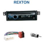 Poste 1-DIN CD/USB/Bluetooth Ssangyong Rexton de 2001 à 2006 - autoradio JVC et Kenwood au choix