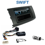 Poste 1-DIN CD/USB/Bluetooth Suzuki Swift de 2005 à 2010 - autoradio JVC et Kenwood au choix