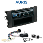 Poste 1-DIN CD/USB/Bluetooth Toyota Auris de 2007 à 2013 - autoradio JVC et Kenwood au choix