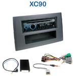 Poste 1-DIN CD/USB/Bluetooth Volvo XC90 depuis 2002 - autoradio JVC et Kenwood au choix