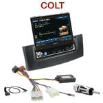 Autoradio Alpine Mitsubishi Colt depuis 11/2008 - Station 1-din avec écran tactile 17.5 cm rétractable - IVA-D511RB ou IVA-D511R au choix