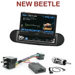 Autoradio Alpine Volkswagen New Beetle - Station 1-din avec écran tactile 17.5 cm rétractable - IVA-D511RB ou IVA-D511R au choix