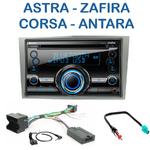 Autoradio 2-DIN Clarion Opel Astra de 04/2004 à 11/2010 Corsa depuis 10/2006 Zafira de 07/2005 à 2012 Antara depuis 2006 - CX501E ou VX404E au choix