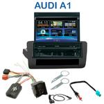 Autoradio 1-DIN GPS écran motorisé Audi A1 depuis 09/2010 - NZ502E