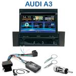 Autoradio 1-DIN GPS écran motorisé Audi A3 (8P) et (8PA) - NZ502E